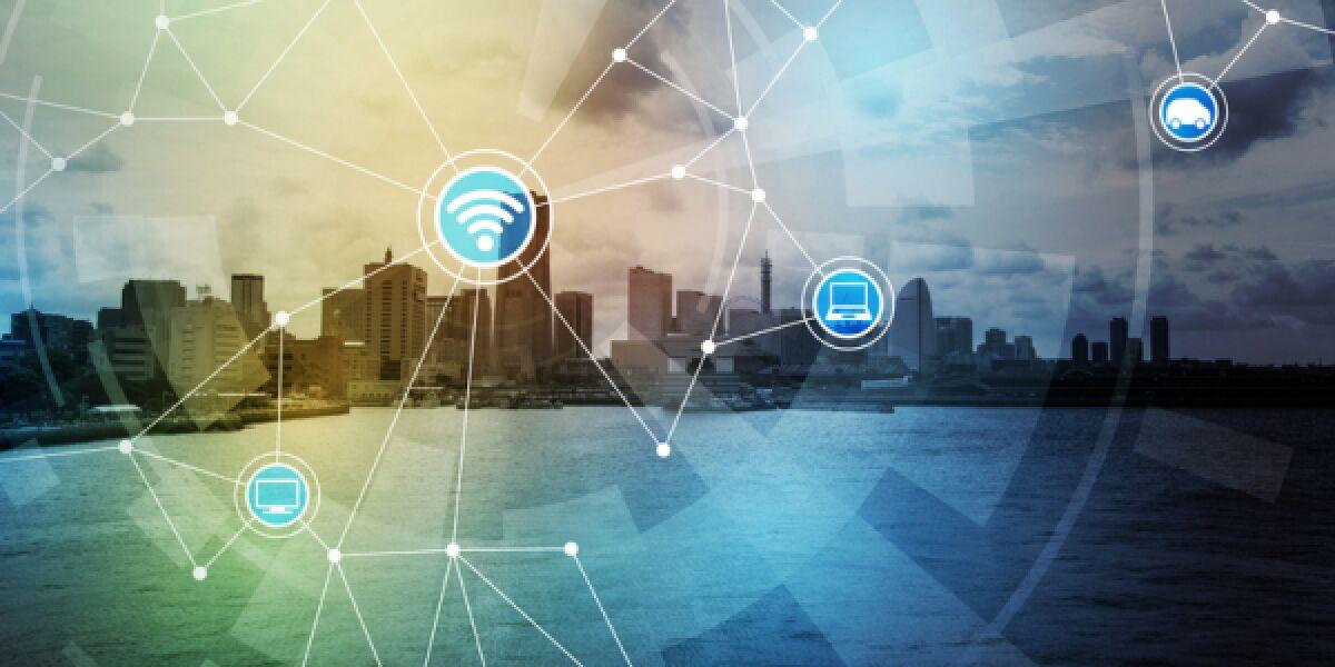 vernetzte Stadt