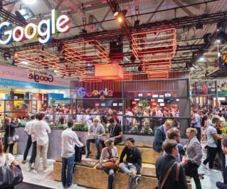 Der Google-Stand auf der Dmexco 2016