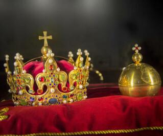 Krone eines Königs