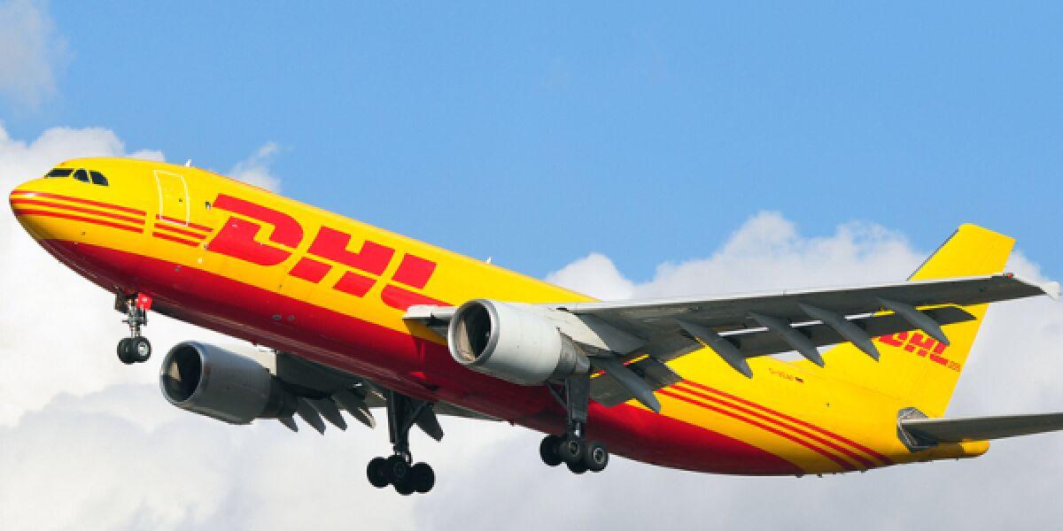 Flugzeug DHL