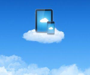 Geräte auf Wolke