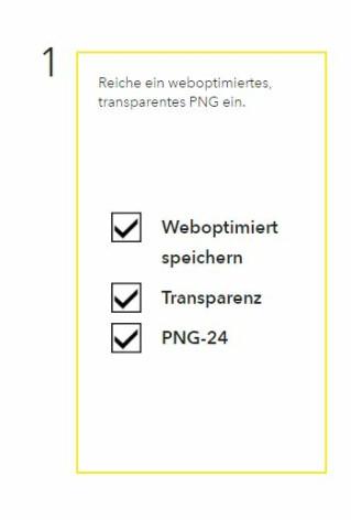 Dateianforderungen für Snapchat Geofilter
