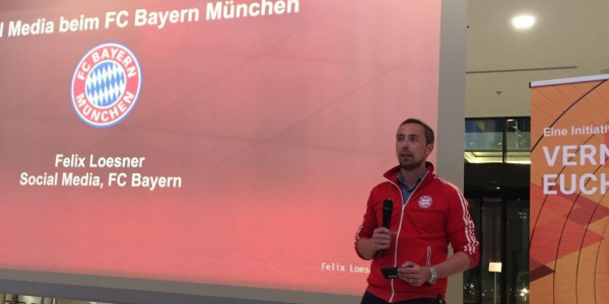 Felix Loesner vom FC Bayern