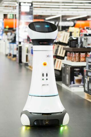 Roboter Paul unterwegs
