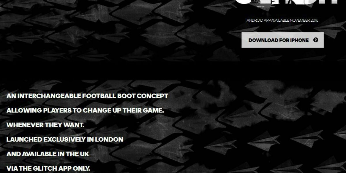 Adidas verkauft Glitch nur über App
