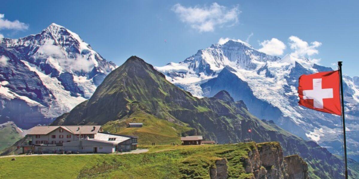 Alpen in der Schweiz