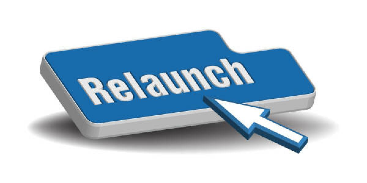 Relaunch Button