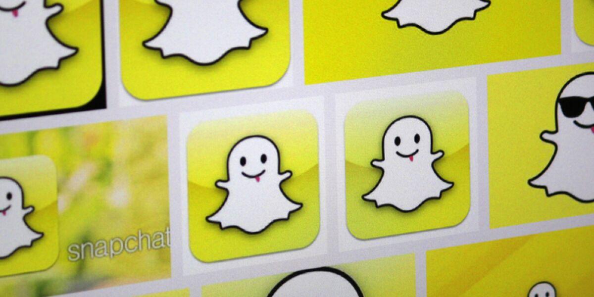Snapchat geister