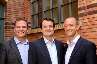 Die Gruender von Etventure Philipp Depiereux, Christian Luedtke und Philipp Herrmann