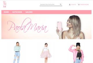 Der Online-Shop von Youtube-Star Paola Maria