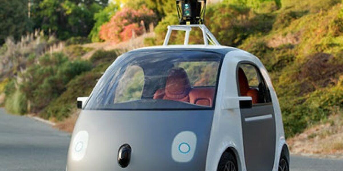 Google-Self-Driving-Vehicle