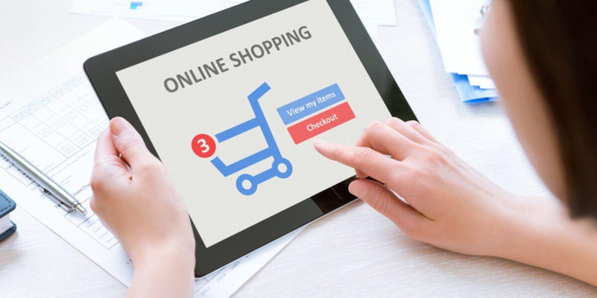 Einkauf via Tablet