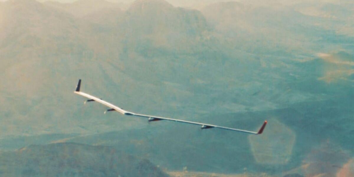 Aquila-Drohne von Facebook