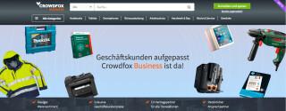 Crowdfox für Geschäftskunden