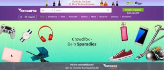 Crowdfox Marktplatz für Sparfüchse