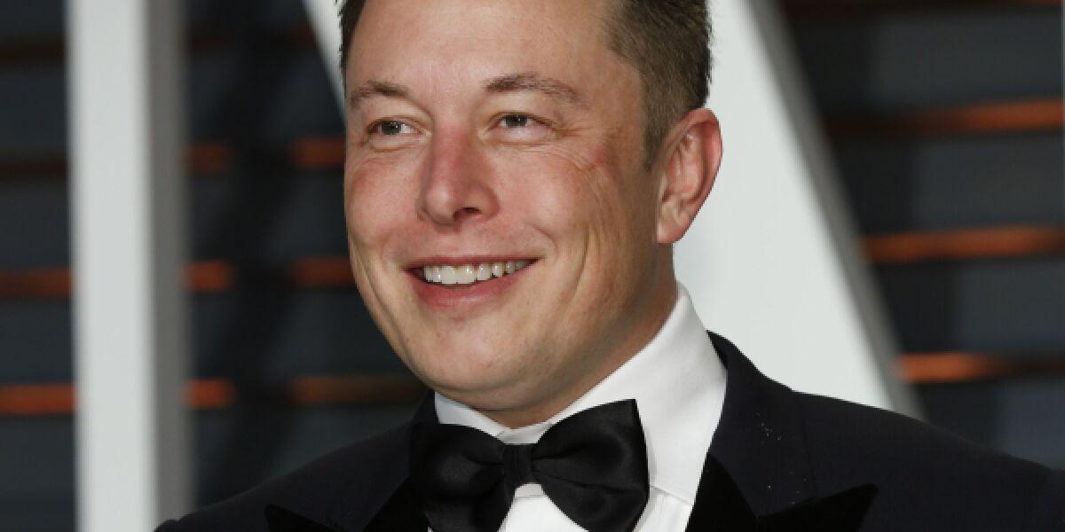 Elon Musik, CEO von Tesla