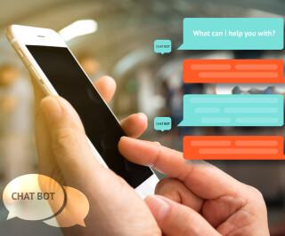 Kundendialog am Smartphone