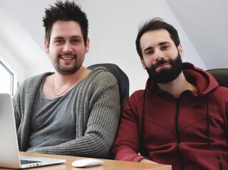 Gruender von Raccoon Strategy Maximilian Kimmel und Adrian Jaroszynski