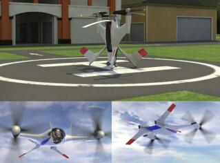 Fliegende Autos