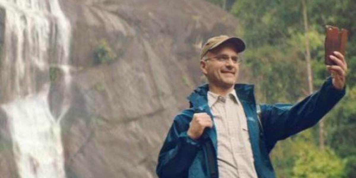 Christoph Maria Herbst in der Eurowings-Kampagne