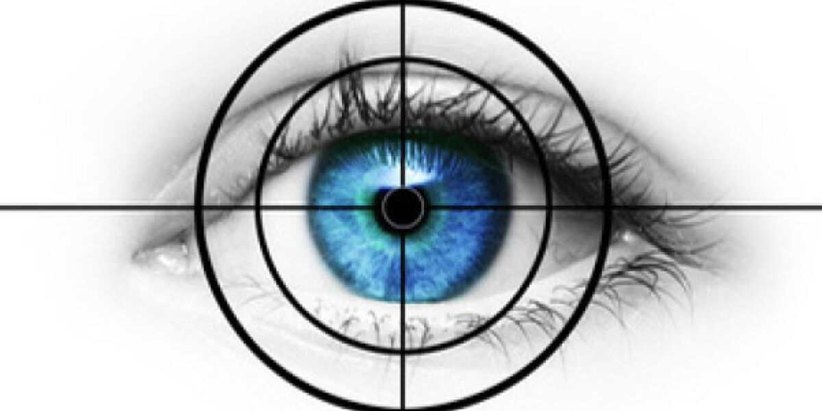 Auge im Radar