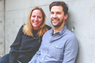 Gruender des Start-ups Unplanned Frauke Schmidt und Christian Diener