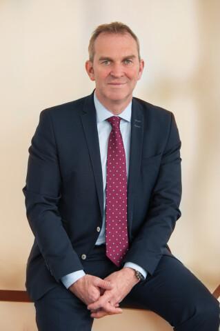 Lothar Schäfer, Vorstandsvorsitzender von Adler-Mode aus haibach