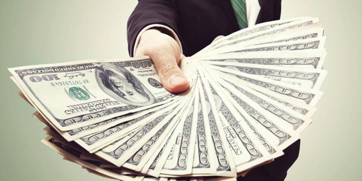 Geld-Geldscheine