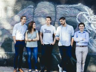 Das Gründerteam von Byrd aus Wien