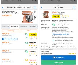 idealo Preisvergleich Küchenmaschinen