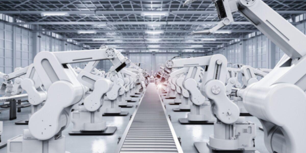 Roboter in der Fabrik 4.0
