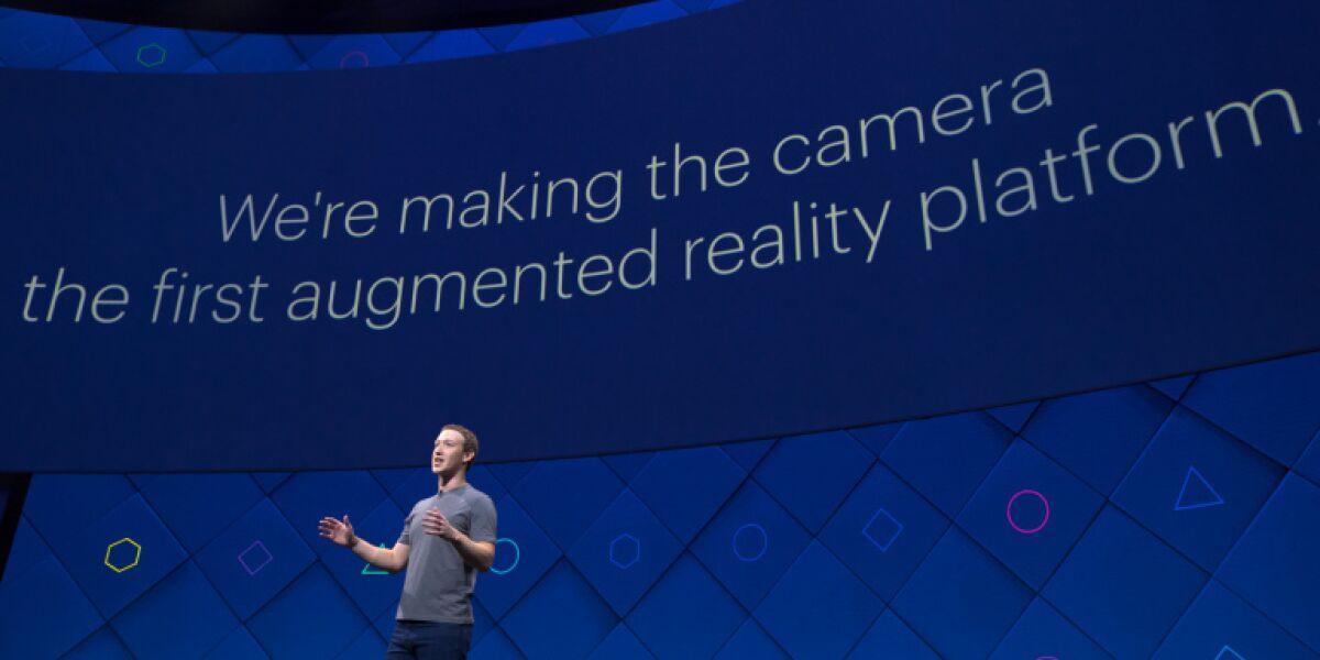 Mark Zuckerberg auf F8