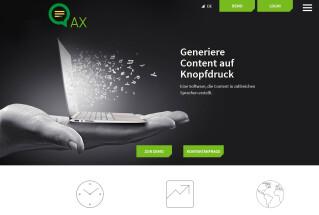 AX-Semantics ist eine Software zur automatisieren Texterstellung