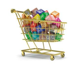 Apps im Einkaufswaagen