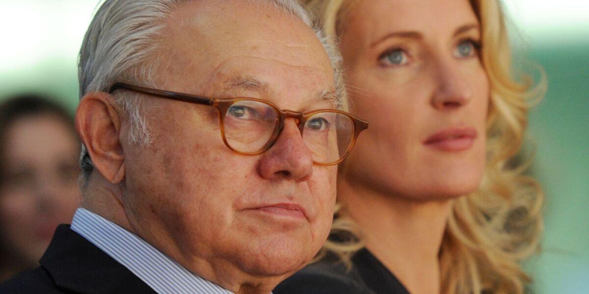 Hubert Burda und Maria Furtwaengler