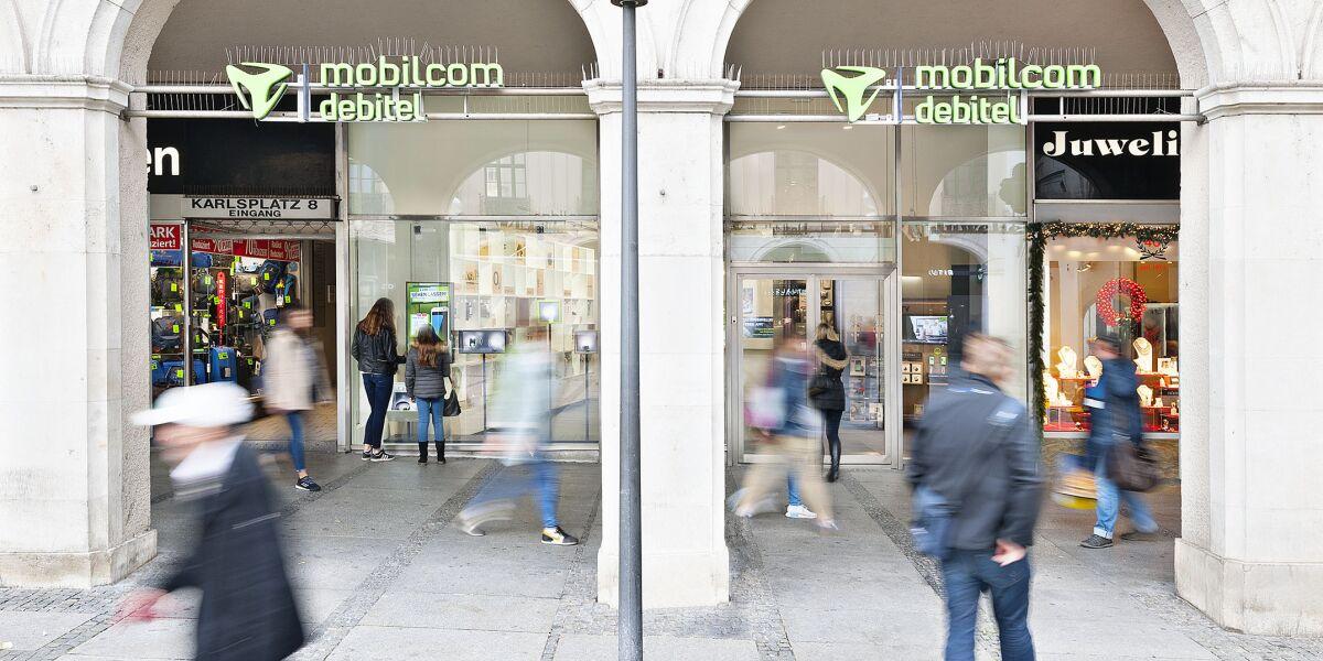 Store von Mobilcom Debitel
