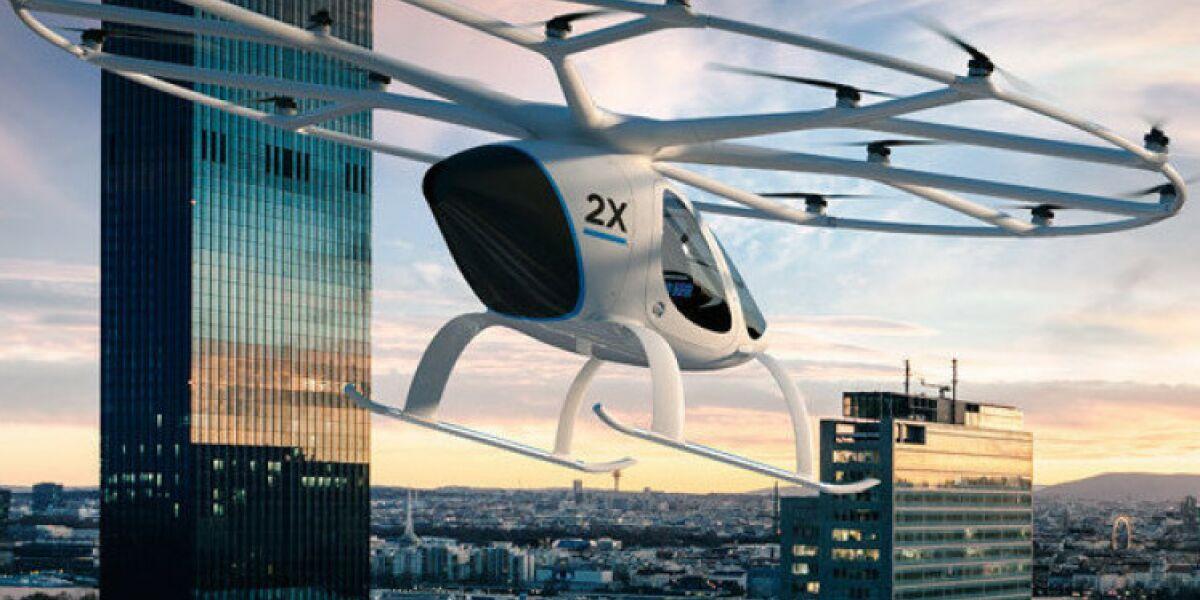 Volocopter-Flugtaxis werden in Dubai getestet