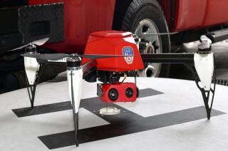 Feuerwehr-Drohne