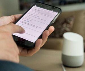 Smarter Lautsprecher Google Home