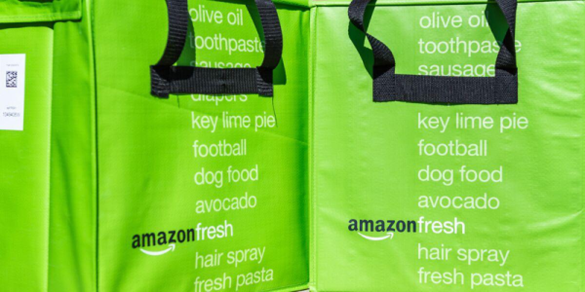 Amazon-Fresh Lieferung