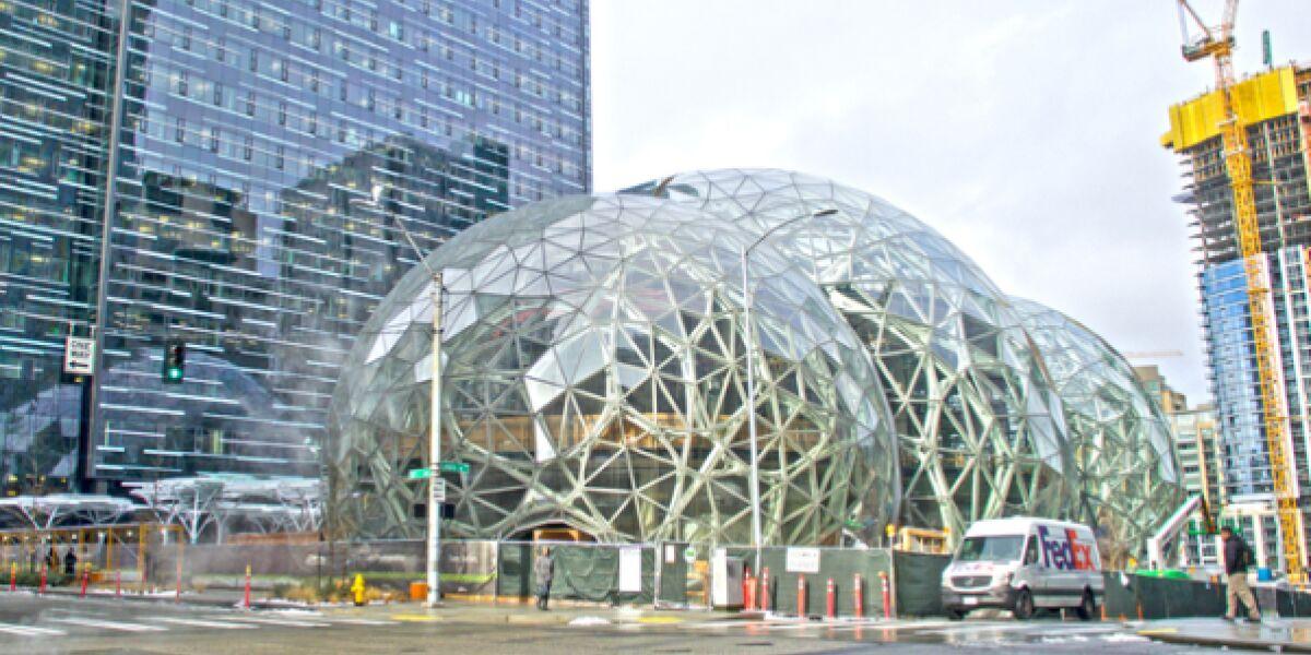Amazon Biosphäre in Seattle