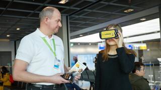 VR-Premium-Econonmy der Lufhansa