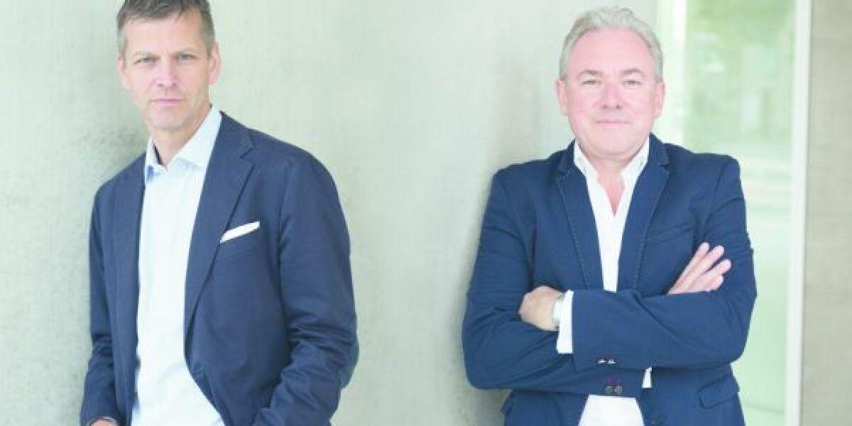 Christian Muche und Frank Schneider dmexco