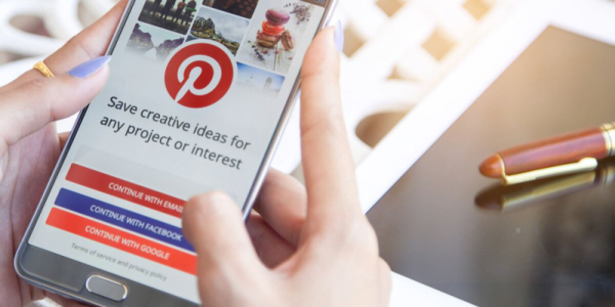 Pinterest Smartphone Nutzer User Tablet
