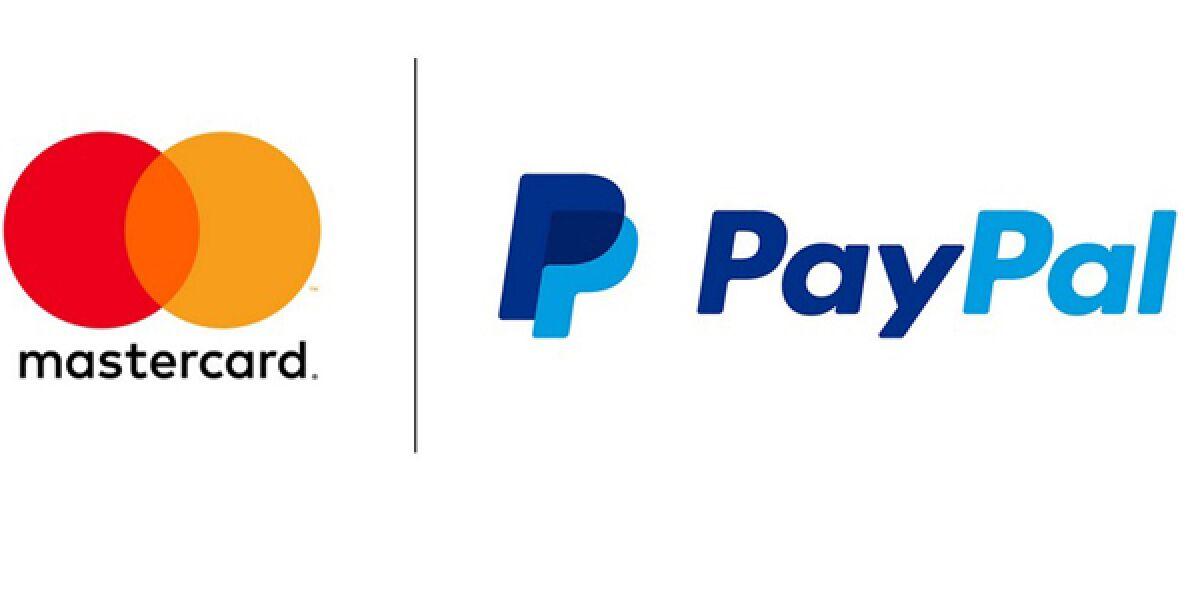 Mastercard und PayPal