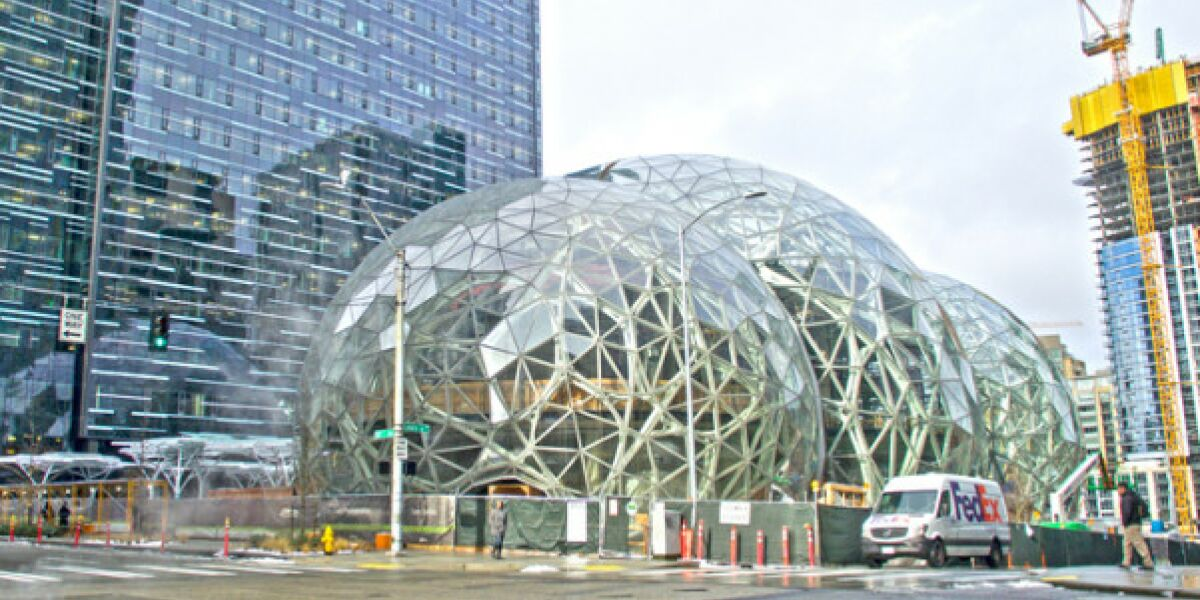 Amazon-Seattle-Biosphaere