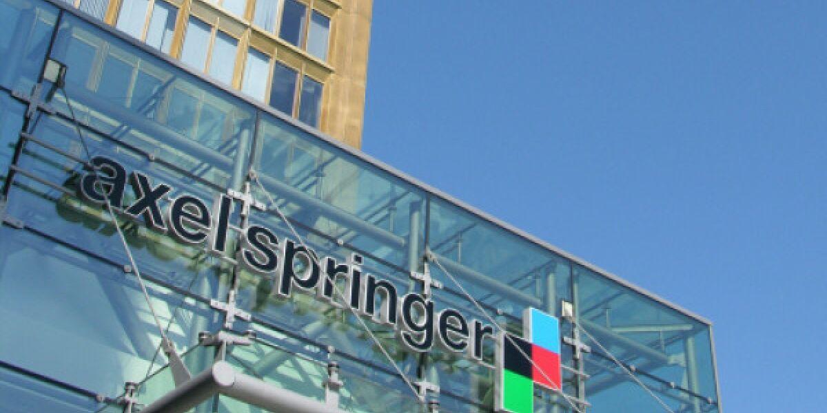 Eingang des Gebäudes von Axel Springer