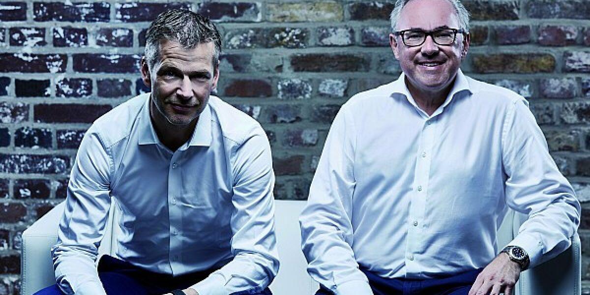 Christian Muche und Frank Schneider