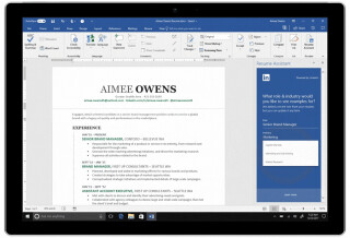 Resume Assistant in Word
