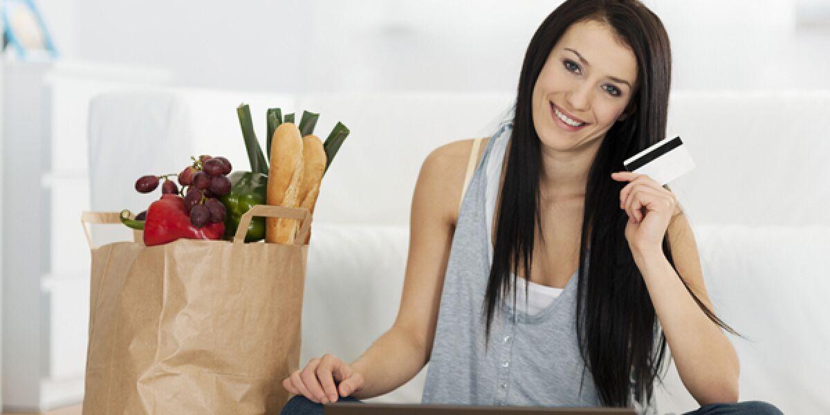 Online-Lebensmittel-Handel